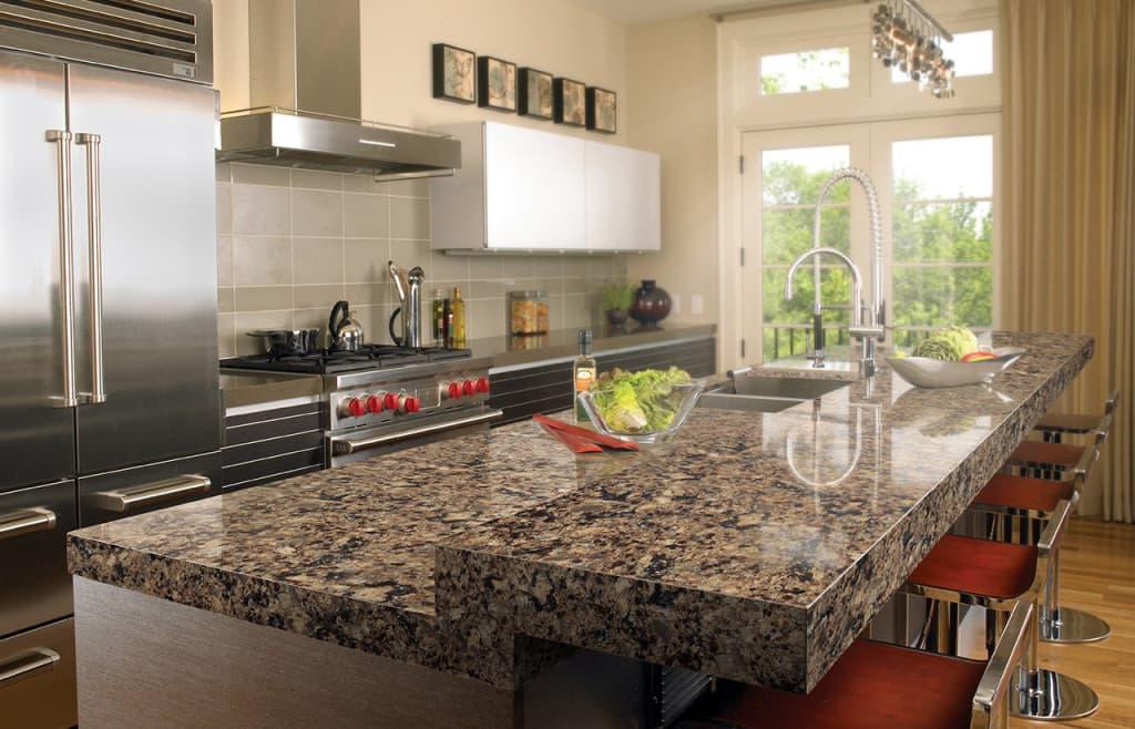 Столешницы из камня для кухни